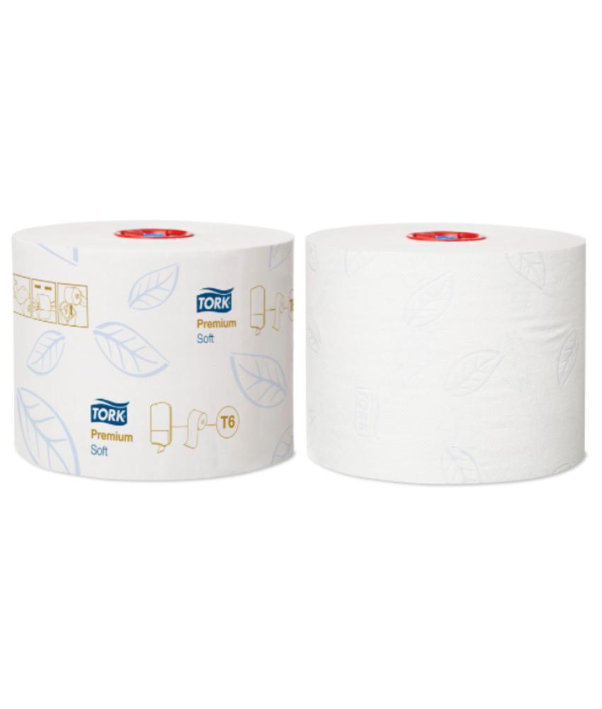 Tork Zacht Mid-size Toiletpapier 2-laags Wit T6 Premium