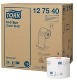 Tork Tork Mid-size Toiletpapier 1-laags Wit T6 Universal
