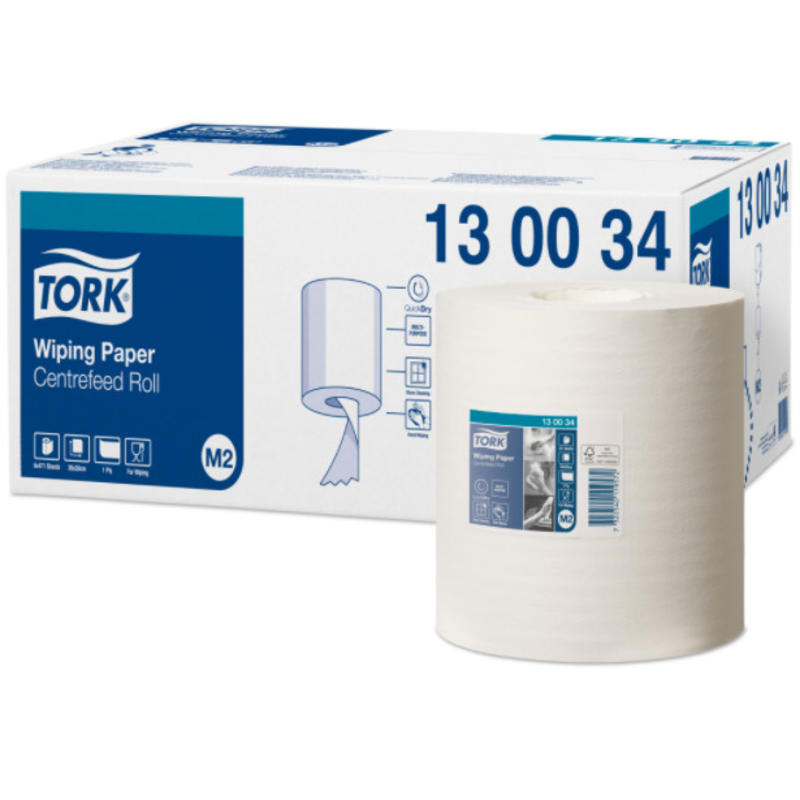 Tork Wiping Centerfeed Poetspapier 1-laags M2