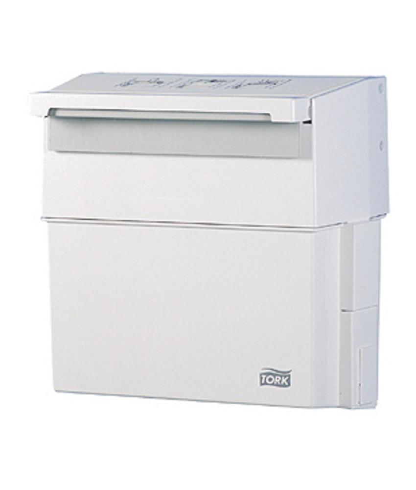 Tork Afvalbak Kunststof Wit 13 liter Compact-Box