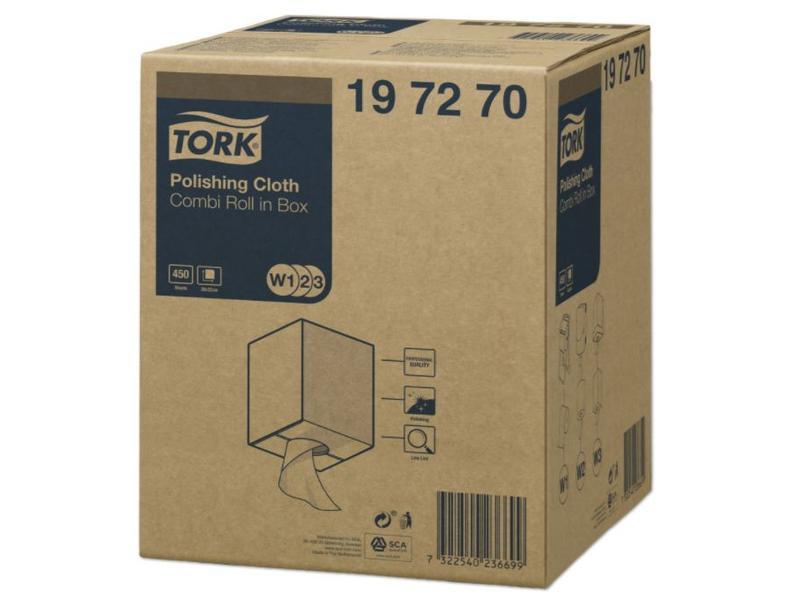 Tork Tork Polishing Combi Rol Reinigingsdoek W1/W2/W3