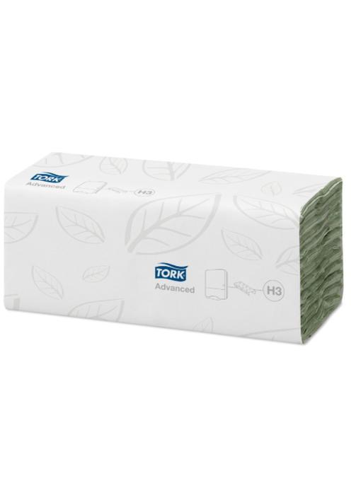 Tork C-vouw Handdoek 2-laags Groen XL H3 Advanced