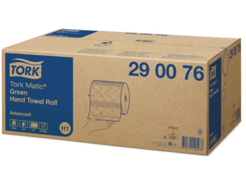 Tork Tork Matic® Handdoekrol 2-laags Groen H1 Advanced