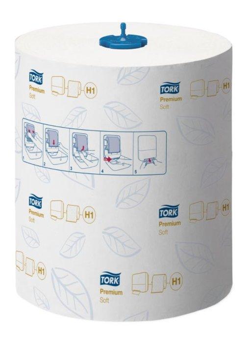Tork Matic® Zachte Handdoekrol 2-laags Wit H1 Premium