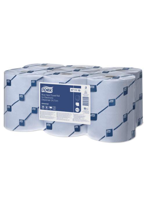 Tork Handdoekrol voor elektronische dispenser 24,7, Blauw H13