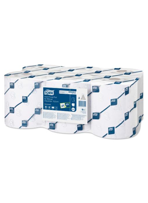 Tork Handdoekrol voor Mechanische Dispenser - 19,5 cm 2-laags Wit H14 Advanced