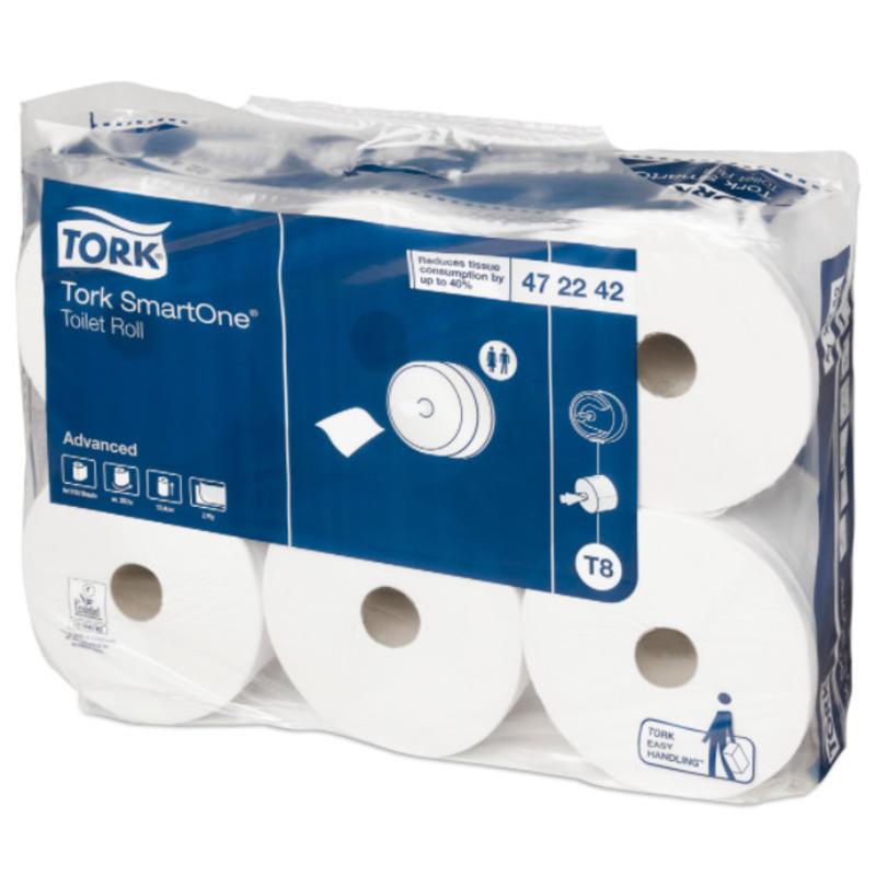 Tork SmartOne® Toiletpapier 2-laags Wit T8