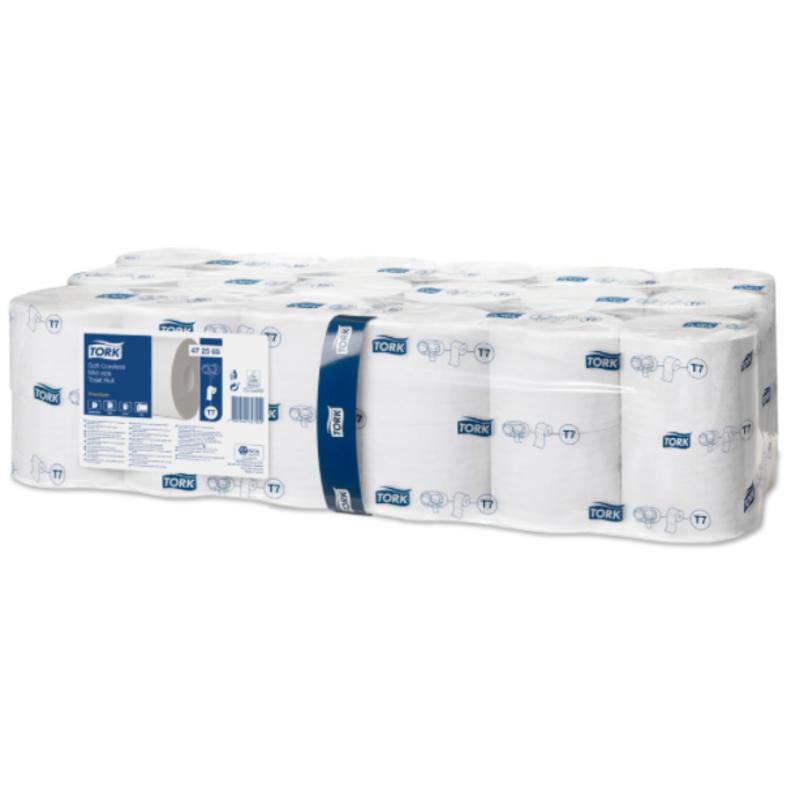 Tork Zacht Hulsloos Mid-size Toiletpapier 2-laags Wit T7 Premium