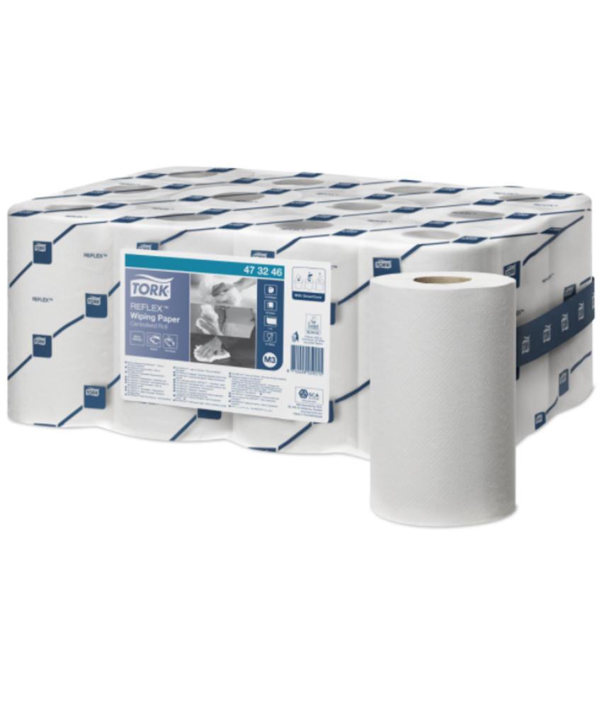 Tork Reflex® Wiping Mini Centerfeed Poetspapier 1-laags M3