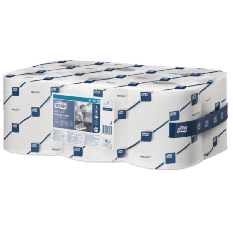 Tork Reflex® Wiping Centerfeed Poetspapier 1-laags M4