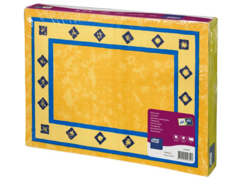 Tork Tork placemat 31x42cm Palazzo Blue 5x500