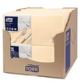Tork Tork tissue servet 33x33cm 2-laags 1/4-vouw cream 10x200