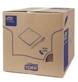 Tork Tork tissue servet 33x33cm 2-laags 1/4-vouw cocoa 10x200