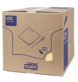 Tork Tork tissue servet 33x33cm 2-laags 1/8-vouw champagne 10x200
