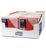 Tork Tork LinStyle® servet 39x39cm 1/4-vouw rood 12x50