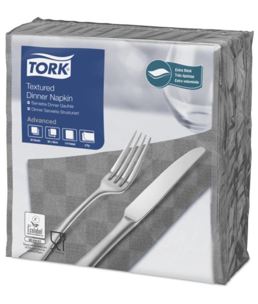 Tork NexxStyle® servet 38x39cm 2-laags 1/4-vouw grijs 18x50