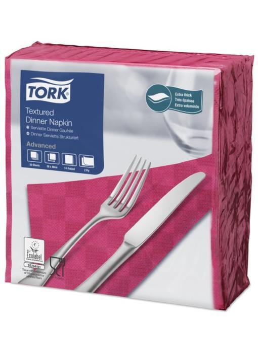Tork NexxStyle® servet 38x39cm 2-laags 1/4-vouw fuchsia 18x50