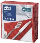 Tork Tork NexxStyle® servet 38x39cm 2-laags 1/4-vouw rood 18x50