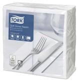 Tork Tork tissue servet 39x39cm 3-laags 1/8-vouw wit 12x100