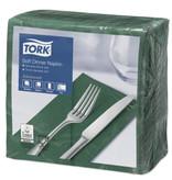 Tork Tork tissue servet 39x39cm 3-laags 1/8-vouw mountain pine green 12x100