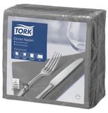 Tork Tork tissue servet 39x39cm 2-laags 1/4-vouw grijs 12x150