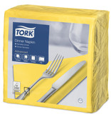 Tork Tork tissue servet 39x39cm 2-laags 1/4-vouw passion yellow 12x150