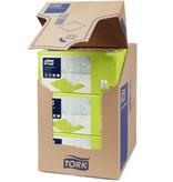 Tork Tork tissue servet 23x23cm 2-laags 1/4-vouw pistachio 10x300