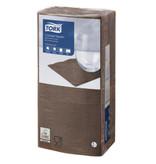 Tork Tork tissue servet 23x23cm 2-laags 1/4-vouw cocoa 10x300
