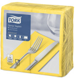 Tork Tork tissue servet 39x39cm 2-laags 1/8-vouw passion yellow 12x150