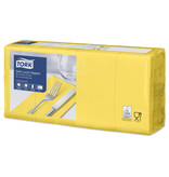 Tork Tork tissue servet 33x33cm 3-laags 1/8-vouw passion yellow 10x150