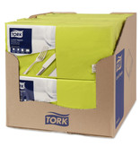 Tork Tork tissue servet 33x33cm 2-laags 1/4-vouw pistachio 10x200