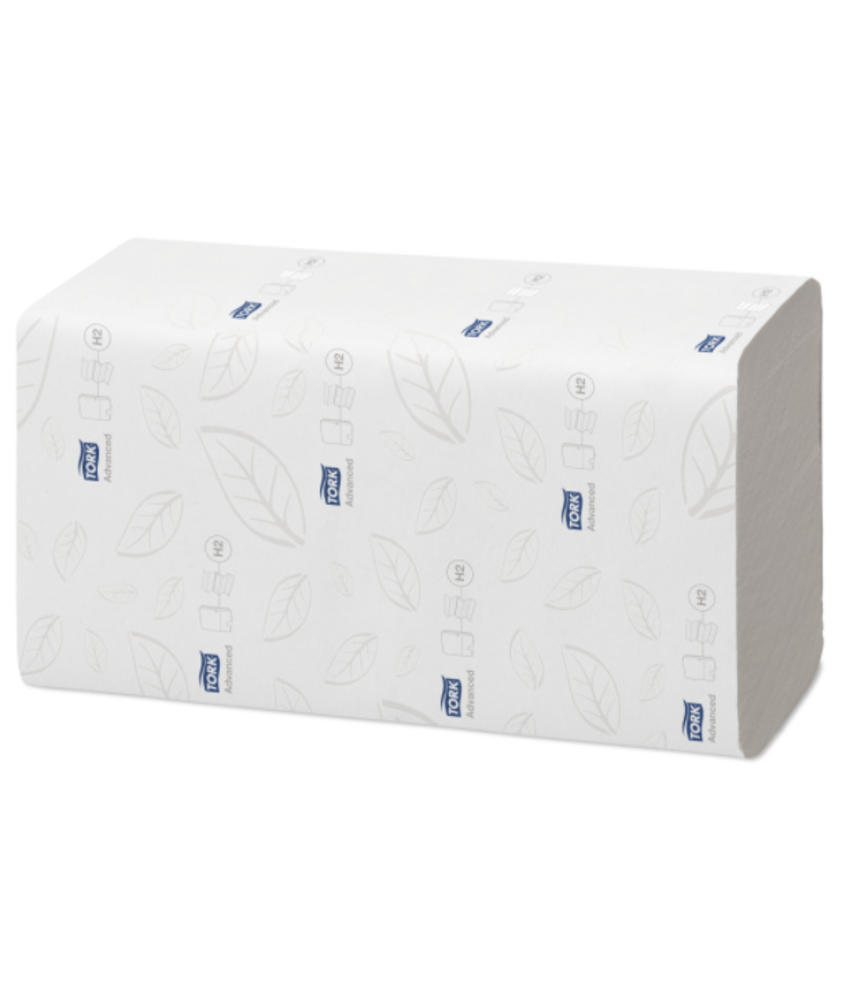 Tork Xpress® Doorspoelbare Multifold Handdoek 2-laags Wit H2 Advanced