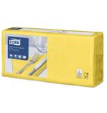 Tork Tork tissue servet 33x33cm 3-laags 1/4-vouw geel 10x150