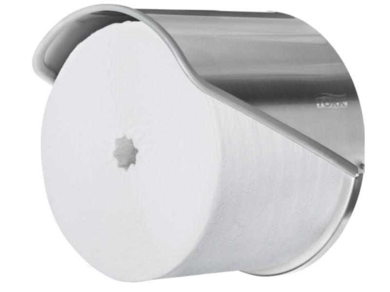 Tork Tork Hulsloos Mid-size Toiletpapier Dispenser 1-rol RVS T7