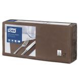 Tork Tork tissue servet 33x33cm 3-laags 1/4-vouw bruin 10x150