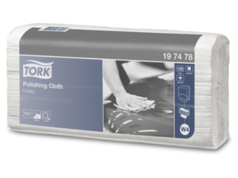 Tork Tork Polishing gevouwen reinigingsdoek W4
