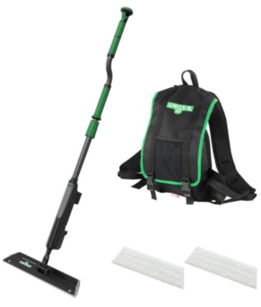 Unger erGO! Wax vloeronderhoud set met Velcro Mop