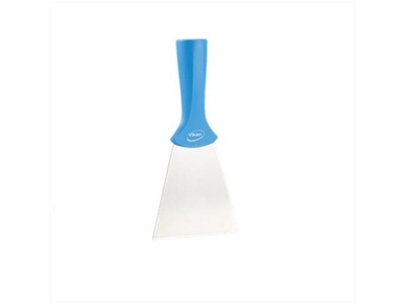 Vikan Vikan handschraper/schroefdraad 4011-3 blauw, breed, rvs blad, 100x205mm /10