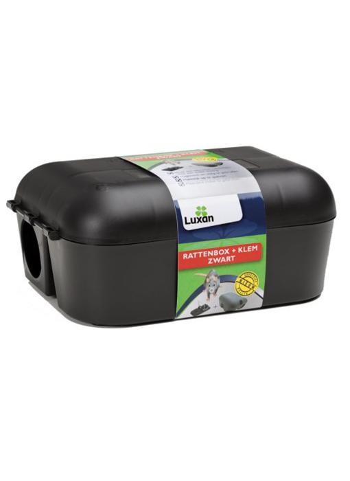 Luxan Rattenbox + Klem Zwart