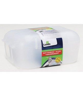 Luxan Luxan Rattenbox + Klem Transparant