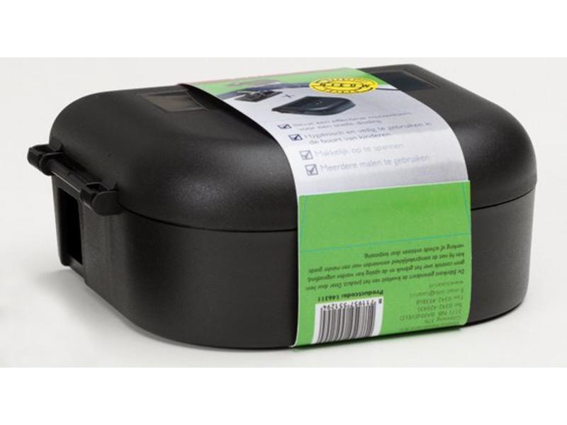 Luxan Luxan Muizenbox + Klem Zwart