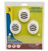 Edialux Ultrasonic Pest Repeller - 3 stuks
