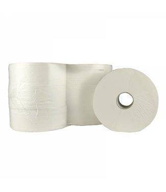 Eigen merk Toiletpapier Jumbo Maxi, 6x 380M, 2-laags, cellulose, wit