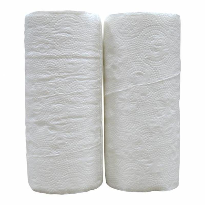 Keukenrollen, 2-laags, tissue wit, 32 rollen x 50 vel