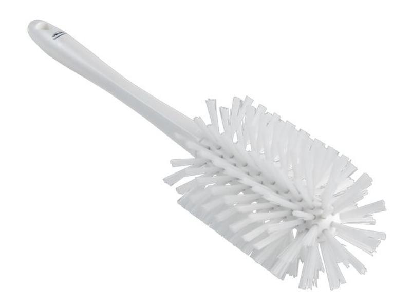 Vikan Vikan, Ultra hygiëne pijpborstel met steel, Ø90x430mm, wit