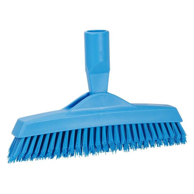 Vikan, Extra harde voegenborstel met flexibele nek, 225x35x90mm, blauw