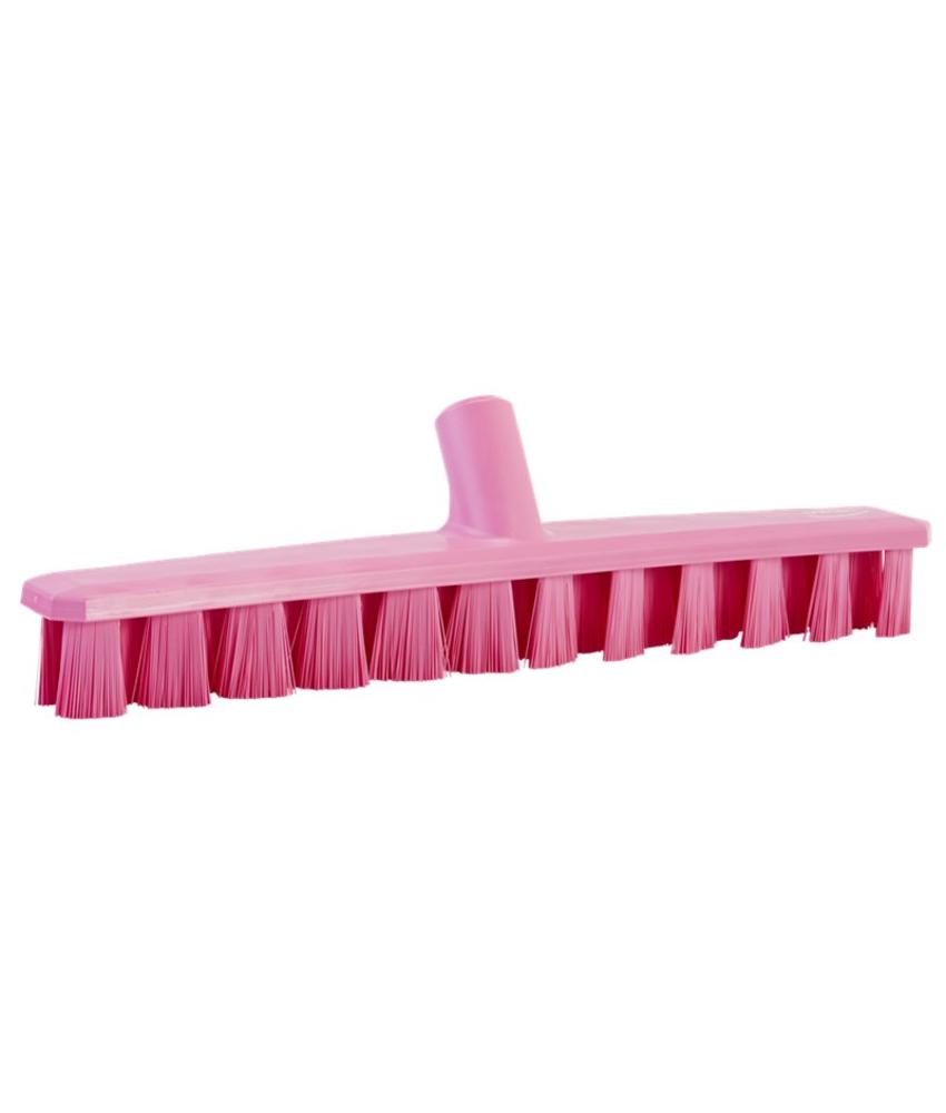 Vikan, Harde vloerschrobber, Ultra Safe, 400x50x75mm, roze