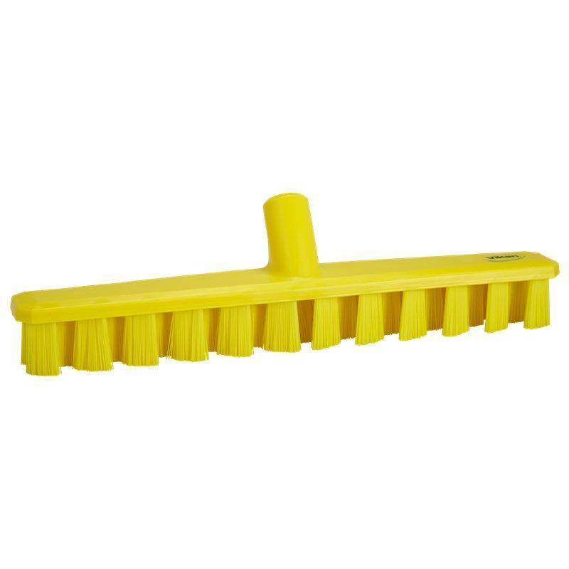 Vikan, Harde vloerschrobber, Ultra Safe, 400x50x75mm, geel