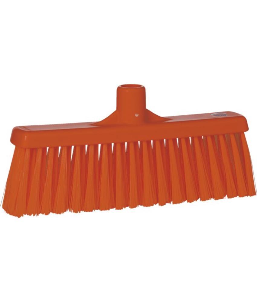 Vikan, Rechte veger, medium, 310x140x60mm,oranje