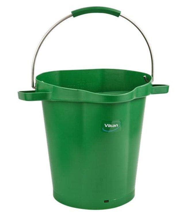Vikan Vikan, Emmer 20 liter, groen